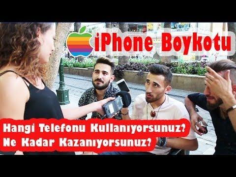 Hangi Telefonu Kullanıyorsunuz? Ne kadar Kazanıyorsunuz? iPhone Boykotu