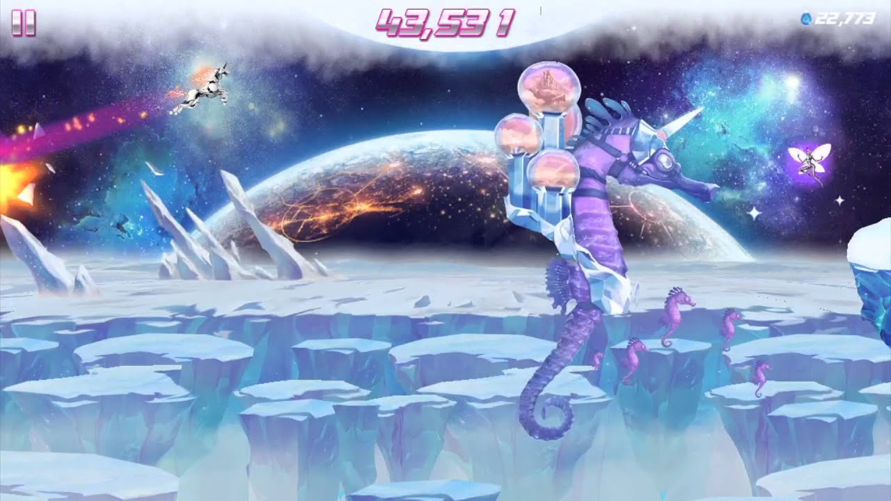 Image result for ROBOT UNICORN ATTACK 2