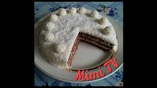 ОЧЕНЬ вкусный торт. Торт Рафаэлло. Кокосовый торт. Торт с маскарпоне. Поварёнок Мими.