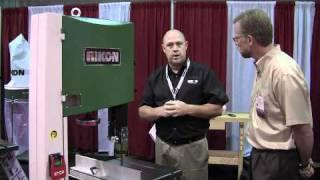 Rikon 16-inch Bandsaw - International Woodworking Fair 2010