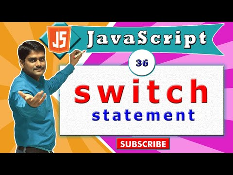 JavaScript tutorial 53 - switch case | conditional statements in javascript thumbnail