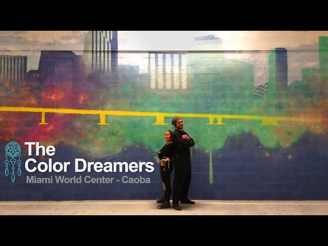 The Color Dreamers - Wynwood Muralist | Miami World Center - Caoba