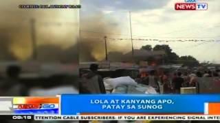 NTG: Lola at kanyang apo, patay sa sunog sa South Cotabato