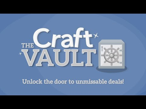 Craft Vault: Up to 65% off + FREE Gifts! (12th Feb 2021)