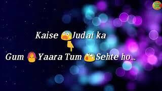 "Hamko ye btao dur kaise tum rahte ho ""tony kakkar"" love feeling song || Dubey love status"