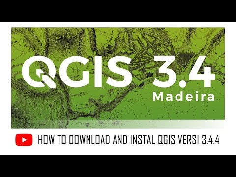 How to Download and Install QGIS 3.4.4 (2019)