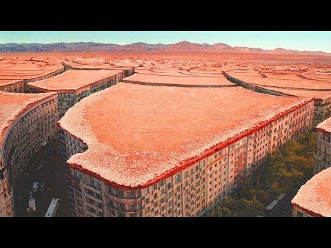 Смотреть Астрономы не верят своим глазам.На МАРСЕ обнаружен заброшенный город.Есть ли жизнь на Марсе онлайн