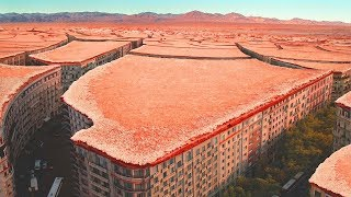 Астрономы не верят своим глазам.На МАРСЕ обнаружен заброшенный город.Есть ли жизнь на Марсе