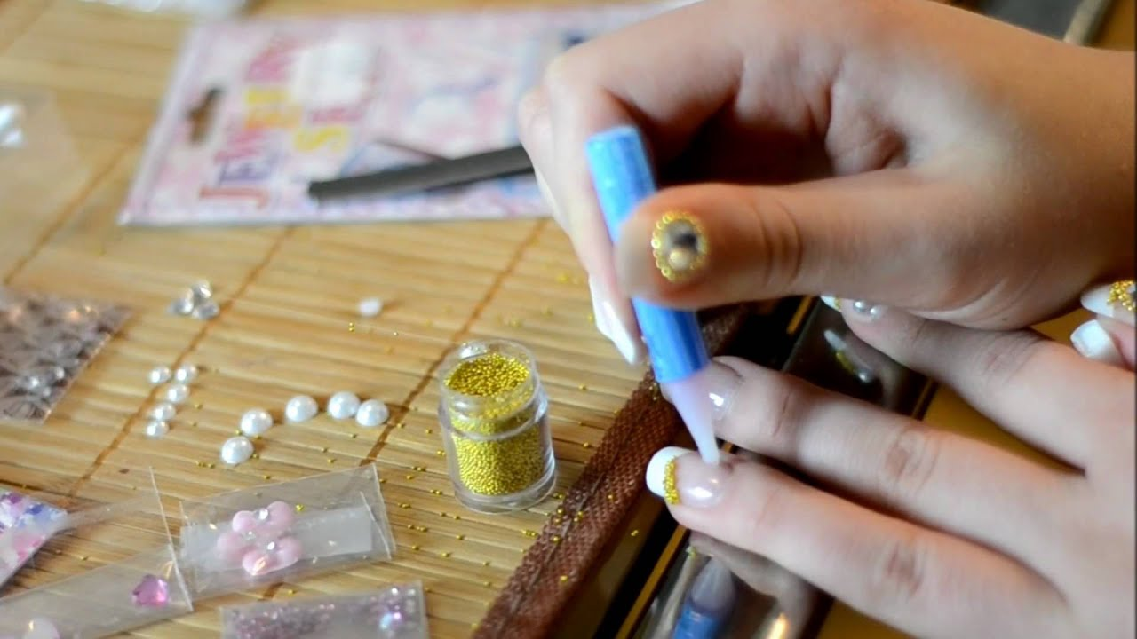 ☆ My Japanese Deco Nails ☆ デコネール 【ヨハンナ】 - YouTube