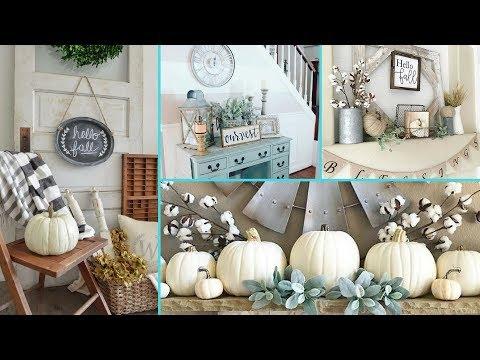 ❤ DIY Rustic Shabby Chic Style Fall decor Ideas ❤ | Home decor & Interior design | Flamingo Mango