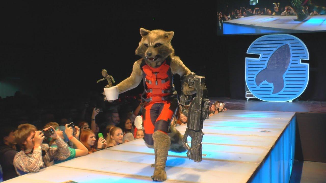 STARCON 2015, Cosplay: Groot, Rocket Raccoon (final /full version ...