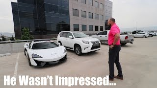 Showing the guy who FIRED ME my NEW McLaren 570s thumbnail