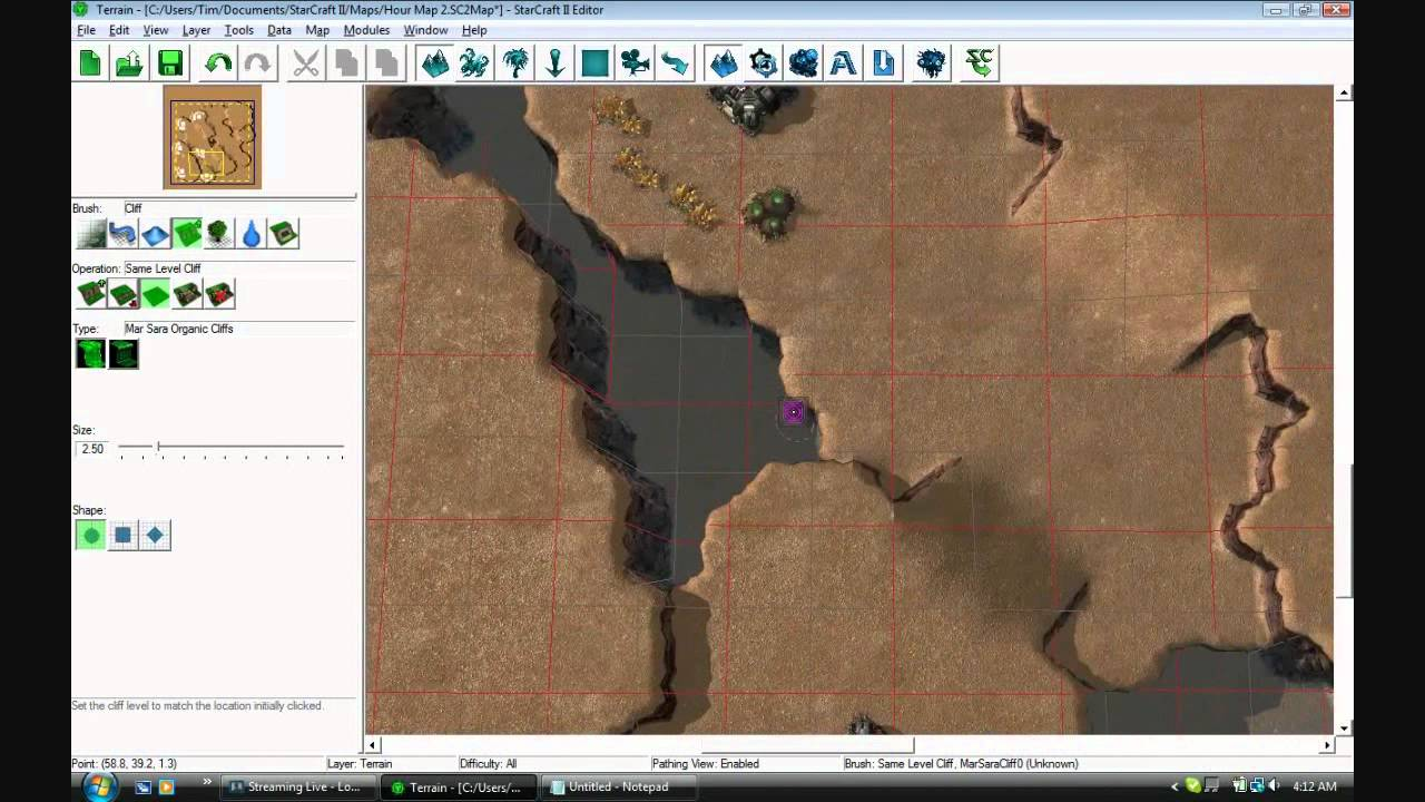 Creating a Starcraft 2 Melee Map!