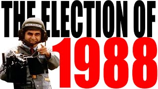 1988 Presidential Election for Dummies -- Bush vs Dukakis