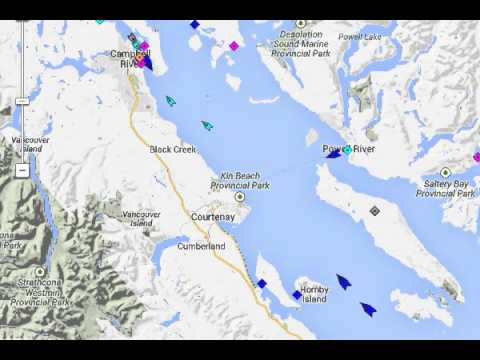 Live Ships  Vessel Traffic and Positions sounding in the fog