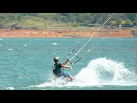 Kitesurfing Costa Rica at Tico Wind  with  Danny Rodriguez  14th of April 2012