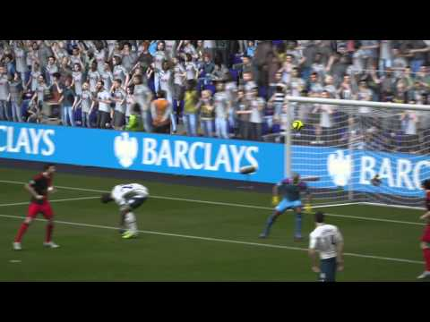 FIFA 15 tottenham  Ben Davies fist goal world class goal