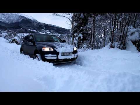 Touareg snow plow Norway