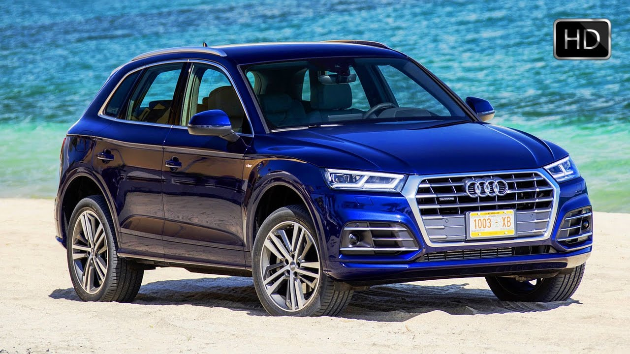 2018 Audi Q5 TFSI Quattro SUV Navarra Blue Exterior & Interior Design HD - YouTube