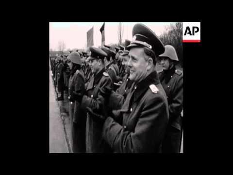 CAN 157 SOVIET DEFENCE MINISTER MALINOVSKY ARRIVES TO EAST BERLIN