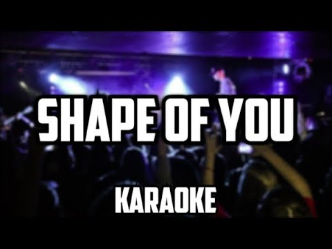 Bars and Melody - Shape of you (cover/karaoke)