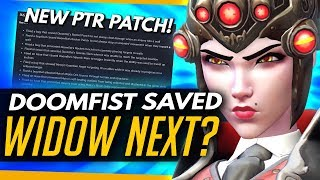Overwatch | DOOMFIST SAVED, WIDOW NEXT?! [NEW PTR PATCH] + News Roundup