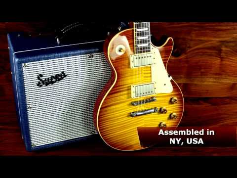 Supro 1642T Titan 1x10 Combo Amplifier Tone Report Demo by Andy Martin