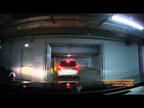COLUMBUS-гипермаркет/ Заезд и выезд с подземной парковки