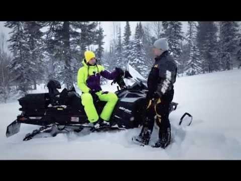 Снегоход Ski-Doo Expedition 1200. Квадроциклы и снегоходы. Выпуск 23