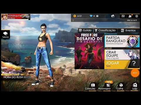 39eb11f07 Como trocar a roupa do personagem no Free Fire !!! - YouTube