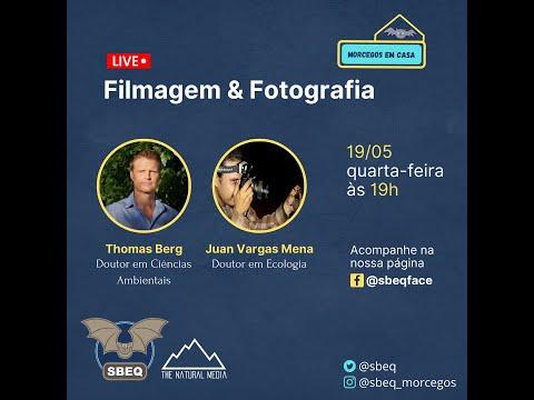 Live Morcegos em Casa (SBEQ) - Filmagem e Fotografia