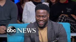 Why Kevin Hart loved working with Bryan Cranston in 'The Upside'