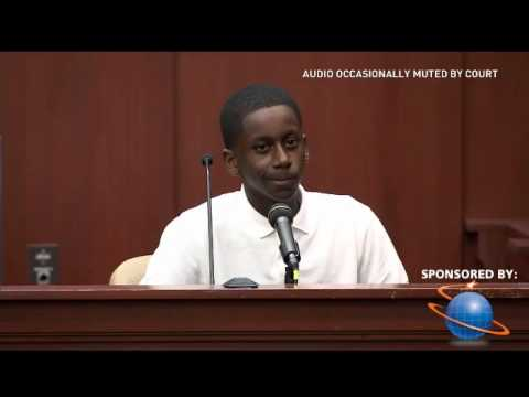 Zimmerman Trial  Chad Joseph Brandy Green's son June 24 2013