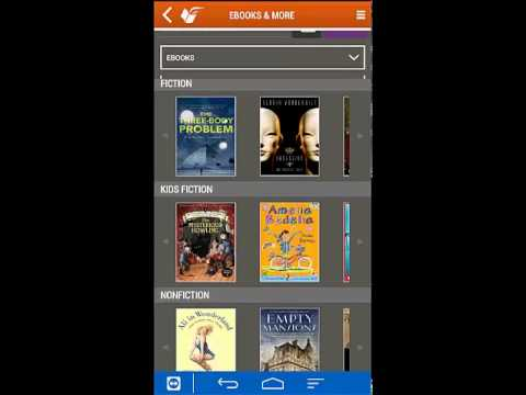 Queens Library Mobile App Demo with Zinio