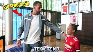 UNBELIEVABLE FOOTBALL ADVICE from RIO FERDINAND!!