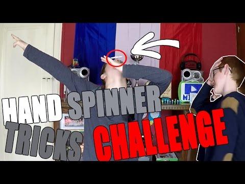 MICHOU - HAND SPINNER TRICK CHALLENGE ! - 5 TRICKS DE HAND SPINNER + DES DÉFIS FOUS