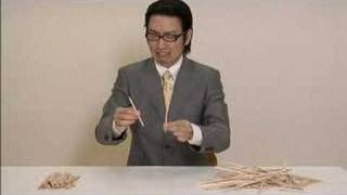 The Japanese Tradition: chopsticks
