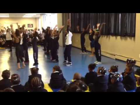 Becky Shakin it at Trey Whitfield School