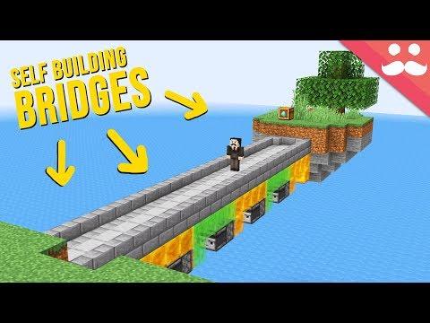Self Building Bridges With Honey Blocks