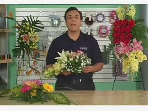 Con que hacer un arreglo de flores colgante grande : Jaulas - YouTube