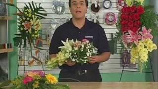 Con que hacer un arreglo de flores colgante grande : Jaulas