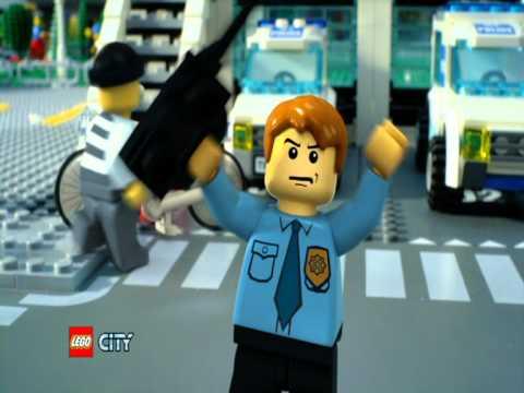 Lego City 7498 Police Station 2011 Lego City Rendőrkapitányság Youtube