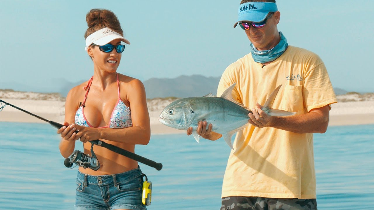 INSHORE FISHING in La Ventana with @Fishing with Luiza and @Capt. Jimmy Nelson