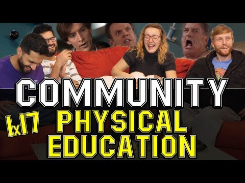 Community - 1x17 Physical Education - Group Reaction
