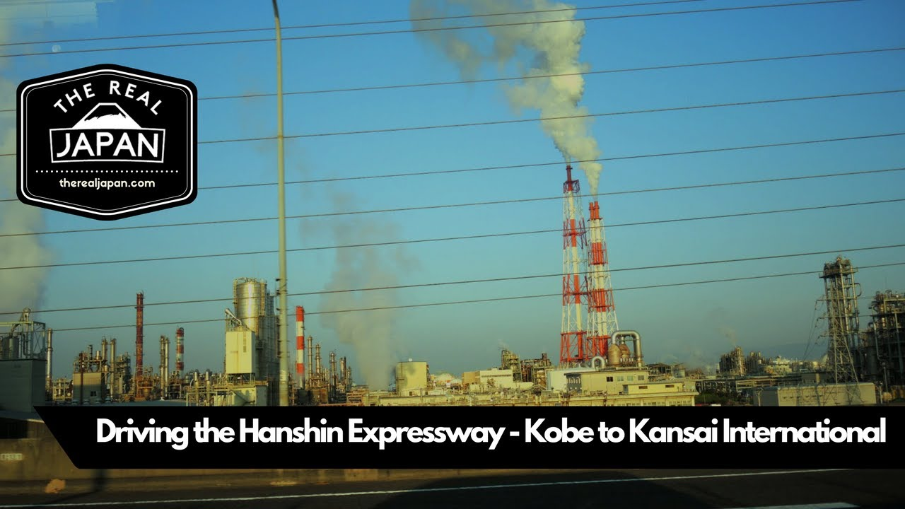 Driving The Hanshin Expressway - Kobe to Kansai International Airport | The  Real Japan | HD