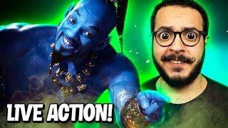 ALADDIN será o PIOR Live Action da Disney? - Análise final