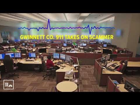 IRS scammer calls Gwinnett police 911 center