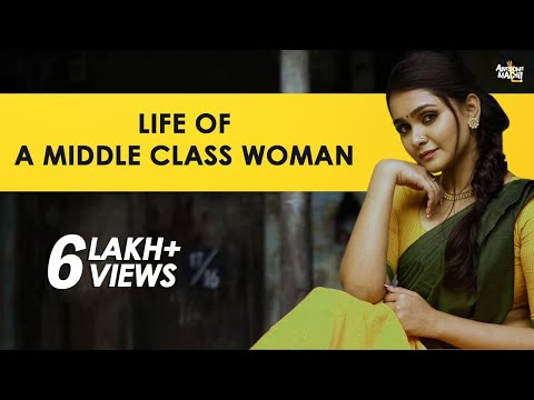 Life of a Middle Class Woman | Awesome Machi | English Subtitles