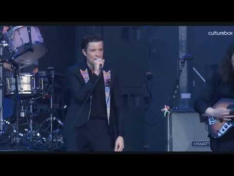 The Killers - Shot At The Night - Live At Lollapalooza Paris 2018