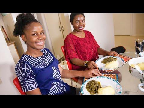 Making Pondu Soup